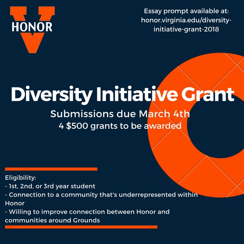 Diversity Initiative Grant